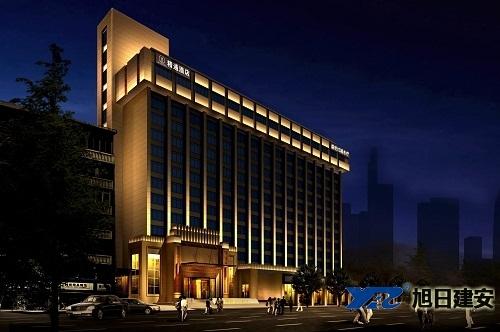 精通101酒店中央空调安装