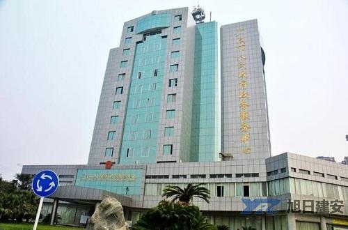 广汉政务中心办公楼中央空调安装