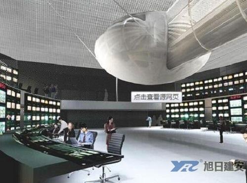 大邑县广播电视灾后重建项目中央空调安装