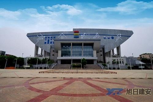 遂宁市船山体育馆中央空调清洗维护