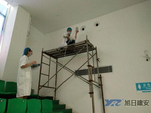 遂宁市船山体育馆中央空调清洗维护4