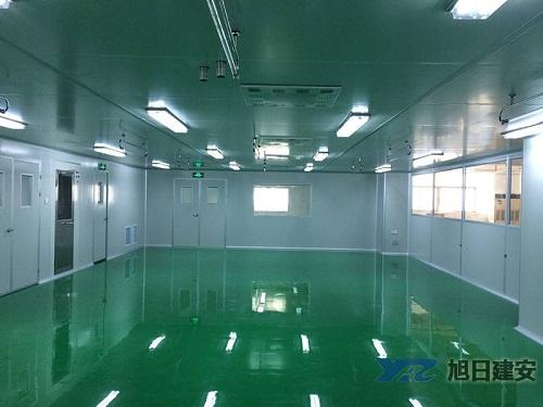 四川食品厂无尘车间设计施工